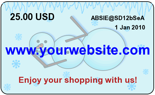 sell gift certificates online in your virtuemart store awodev com